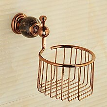Regal aus Badetuch, Gold Kupfer Antik Handtuch