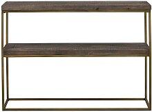 Regal aus Kiefer Massivholz 120 cm