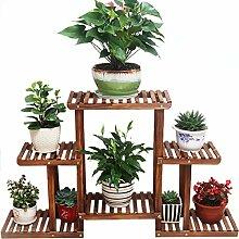 REGAL BOBE Shop- Blumenständer Massivholz Balkon