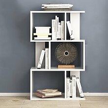 Regal Bücherregal Kombination von Bücherregalen Einfache moderne Büro Praktische Stand Kinder Persönlichkeit Bücherregal Racks ( Farbe : A , größe : 3 )
