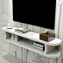 Regal Floating Shelf Wand TV Cabinet Wall