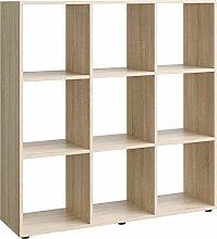 Regal, Holz, eiche, 32 x 105 x 109 cm