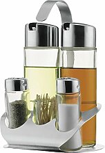 Regal-Menage [Essig und Öl Flaschen]