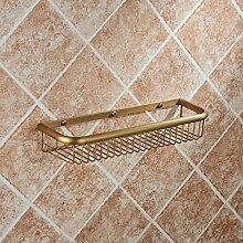 Regal Multifunktions-Regal Alle Kupfer Antique Badezimmer Badezimmer Regal Wandhalter Badezimmer Zubehör ( größe : B )