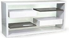 Regal Raumteiler OLSON - 2 Schubladen
