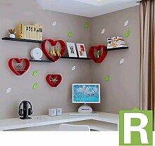 Regal Shelf Creative Plaid TV Hintergrund Wall