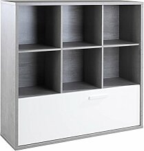 Regal Standregal Bücherregal | 6 Fächer |