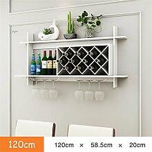 Regal Wand-Weinregal Holz MDF Schrank Creative