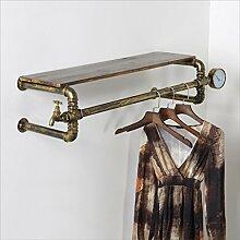 Regale Retro Eisen Kleiderständer Kleiderbügel