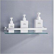 Regale Wandregale aus Glas Aluminiumschiene