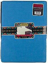 Regency Royal 7108DBDB Doppelbett Bettbezug-Set, dunkelblau