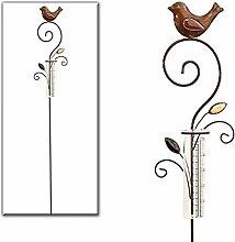 Regenmesser Metall / Gartenstecker Gartendeko