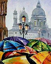 Regenschirm Diamant Malerei 5D DIY Voll Bohren