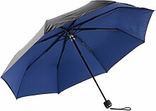 Regenschirm Vinyl Sonnenschutz Anti-UV Fold Sonnenschirm Sonnenschirm UPF50 + ( Farbe : #5 )