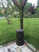 Regentonne in Weinfass Optik 50l