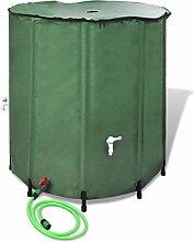 Regentonne Wassertank aus PVC, 250L/500L/750L,