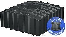 Regenwasser-Flachtank 4200 Liter schwarz