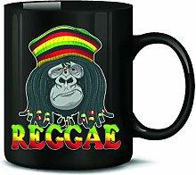 Reggae Gorilla 4816 Tasse Becher Kaffeetasse