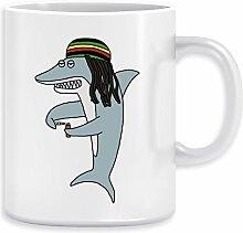 Reggae Hai Kaffeebecher Becher Tassen Ceramic Mug