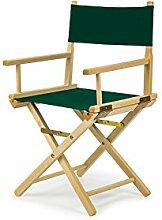 REGIESTUHL Stuhl aus Holz Campingstuhl (GRÜN)