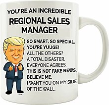 Regional Sales Manager Coffee Mug Funny Gifts -