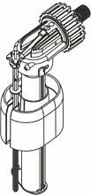 regiplast 0500dieses Schwimmerventil für Spülkasten Vorwandelemen