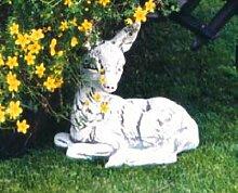 Reh liegend (S172) Gartendeko Tierfiguren