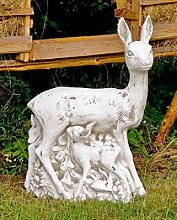Reh mit Kindern (S103005) Gartendeko Tierfiguren