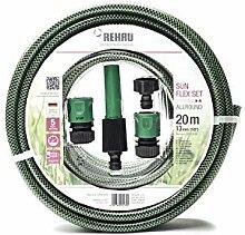 gutes Handling umweltfreundliche Materialien REHAU Gartenschlauch PRO LINE 13mm 20m 1//2 schadstofffrei