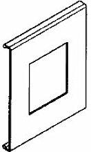 Rehau fbk-1X Zeichen der Öffnung 65/110cws 17669021100