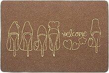 Reiben Boden Matte/Foot Pad/Die Tür,Eingang,Fußmatten/Fußabtreter-J 50x80cm(20x31inch)
