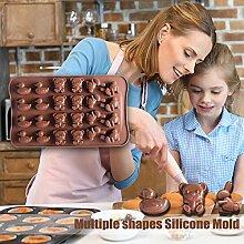 Reichhaltige und Bunte Süßigkeiten Schimmel