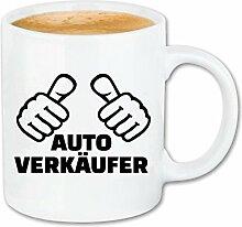 Reifen-Markt Kaffeetasse AUTOVERKÄUFER -