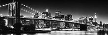 Reinders Bild New York - Brooklyn Bridge black &,