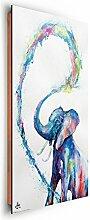 REINDERS Elefant Marc Allante - Wandbild 60 x 90 cm