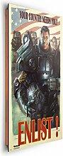 REINDERS Fallout 4 - Wandbild 60 x 90 cm
