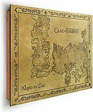 REINDERS Game of Thrones - Landkarte - Wandbild 90