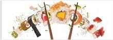 Reinders! Glasbild Glasbild Sushi Gesund - Fisch -
