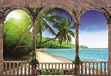 REINDERS Palms in paradise - Fototapete 368 x 254