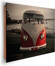 REINDERS Volkswagen Bulli - Wandbild 90 x 60 cm