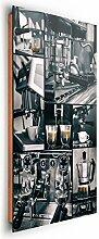 REINDERS Wer will Kaffee - Wandbild 60 x 90 cm