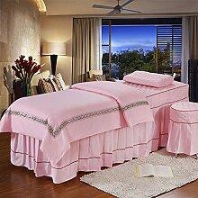 Reine farbe Massage tisch plansätze Gesteppter
