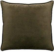 Reine Farbe velvet velvet Kissen Kissen Kissen Sofakissen großes Bett Kissen zurück Pad (50, 50 X 50)