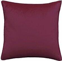 Reine Farbe velvet velvet Kissen Kissen Kissen Sofakissen großes Bett Kissen zurück Pad (43, 50 X 50)