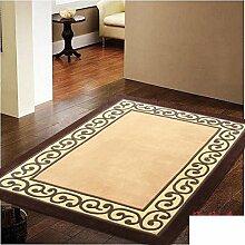Reine Hand Wohnzimmer Sofa und Teppich/ Schlafzimmer einfach europäisch anmutenden dicke Teppiche im Zimmer-A 140x200cm(55x79inch)