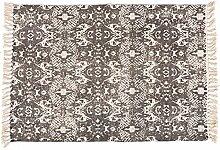 Reiner Wolle handgewebten Teppich/ moderne minimalistische Fenster Decke/Schlafzimmer Bettdecke-A 120x170cm(47x67inch)