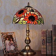 Reines Kupfer butterfly flower garden Tiffany-lampen, den Schalter