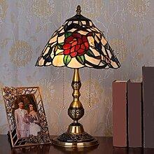 Reines Kupfer butterfly flower garden Tiffany-lampen, der Helligkeitsregler