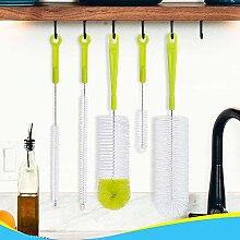 Reinigungsbürste – Lange Wasserflasche und