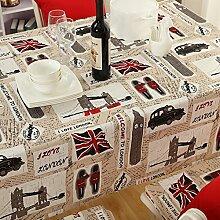Reis wort flagge tischdecke,Familie kreativ